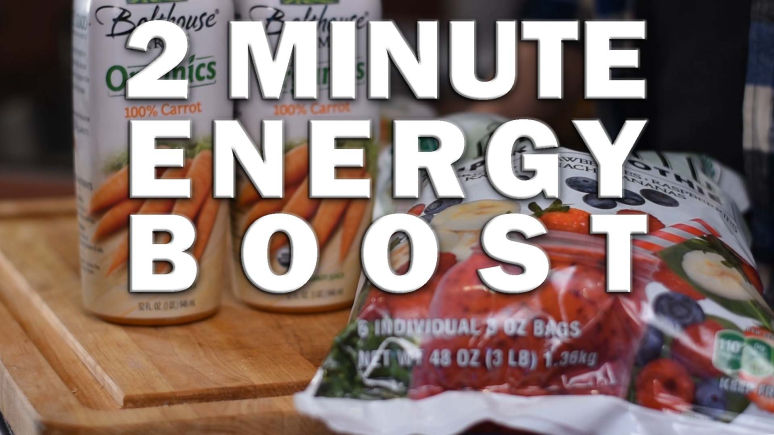 Two Minute Energy Boost