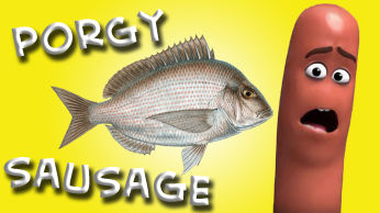 Fish Sausage made with Porgy Scup